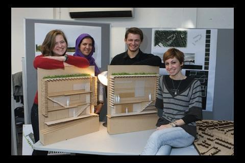 Nottingham Trent architecture students propose an eco friendly, self-sustaining community